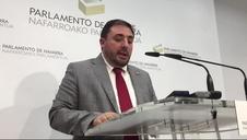 Hualde anuncia que no hay candidato a la presidencia de Navarra