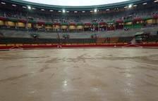 Así está la plaza de toros a las 18.00 horas