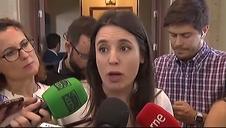 """Irene Montero sobre Sánchez: """"Esperamos que reabra esas negociaciones"""""""