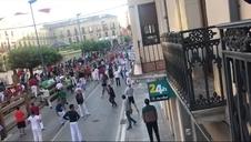 Segundo encierro de fiestas de Tafalla 2019