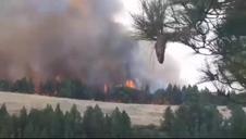 La isla de Gran Canaria vuelve a luchar contra el fuego