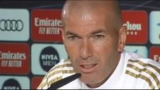 """Zidane: """"Dejad de decir que no cuento con Vinícius"""""""