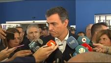 Sánchez dice que no se van a escatimar recursos para paliar los efectos del temporal
