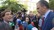Rifirrafe entre Martínez Almeida y Ortega Smith (Vox)