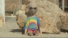 Fanáticos de los ovnis peregrinan al Área 51