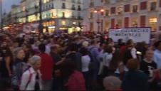 Concentraciones feministas contra la violencia de género en una veintena de ciudades españolas
