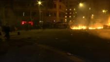 Quinta jornada de disturbios en Barcelona