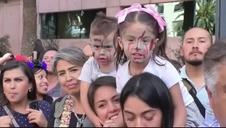 Una marea de zombis conquista la capital de México