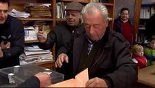 Los vecinos de Villarroya baten su propio récord y votan en sólo 32 segundos