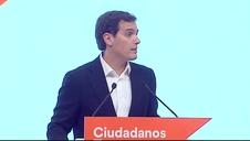 Rivera anuncia su dimisión como presidente de Ciudadanos y que deja la vida pública