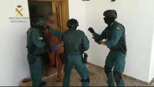 Operación policial contra el tráfico de hachís