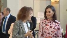La reina Letizia y doña Sofía, juntas en el Rastrillo Nuevo Futuro