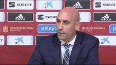 La RFEF confirma la salida de Robert Moreno y el regreso de Luis Enrique