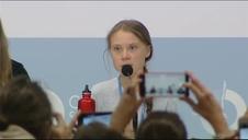 Greta Thunberg cede su voz a otros jóvenes: