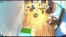 Vídeo del robo en una tienda de telefonía móvil