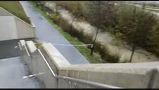 Cerrados accesos al río Sadar junto a la UPNA