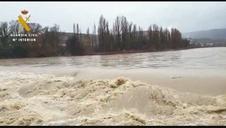 El río Aragón, a su paso por Sangüesa