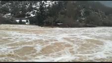 El río Esca, a su paso por Burgui