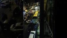 Vídeo tras el accidente protagonizado por un autobús en Estella