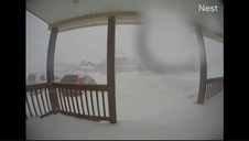 Vecindarios de Canadá quedan sepultados bajo una histórica nevada