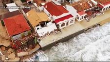 La destrucción provocada por Gloria en Denia y Jávea, a vista de dron