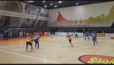 Gol de Javivi de doble penalti para el Aspil