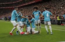 Galería de fotos del partido disputado el domingo 16 de febrero en San Mamés