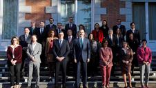 El rey preside el Consejo de Ministros