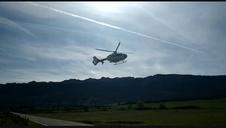 Vídeo de la evacuación de la víctima de un accidente de montaña en Unanu