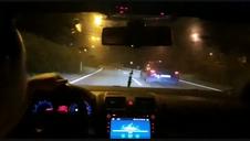 Vídeo de carreras ilegales en las rondas de Pamplona (II)