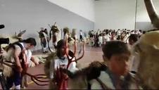 Vídeo del ritual de sangre de los momotxorros en Alsasua