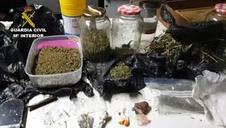 Vídeo: Tres detenidos en Mendavia por tráfico de drogas