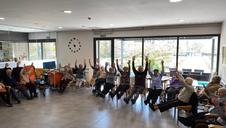Vídeo de una de las actividades en la Residencia San Jerónimo de Estella