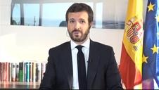 Vídeo: Casado lamenta las actitud de Sánchez: