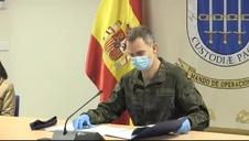 Vídeo del Rey agradeciendo a las FF AA su labor contra el coronavirus