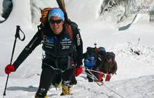 Pasaban y su equipo, en las laderas del Annapurna en 2010.