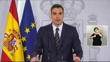 Vídeo: Sánchez anuncia que la Liga de fútbol se reanudará el día 8 de junio
