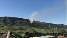 Vídeo del incendio en el Monte San Cristobal