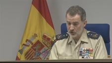 Vídeo del rey Felipe VI en la celebración del Día de las Fuerzas Armadas