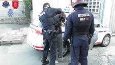 Operación policial contra un grupo que robaba empresas