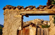 Vista de Beceite, en la Comarca de la Matarraña (Teruel)