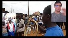 Vídeo de Iganga Community Brass Band y alumnos de la Escuela Luis Morondo