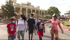 Vídeo: Disney World reabre sus puertas