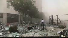 Se registran dos explosiones en puerto de Beirut, Líbano