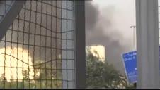 Una fuerte explosión arrasa la zona del puerto de Beirut