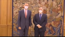 Vídeo: Primera aparición pública de Felipe VI tras el anuncio de la marcha de su padre
