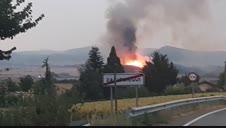 Incendio en Gazólaz