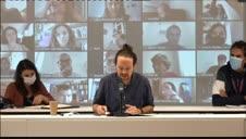 Iglesias marca distancias con el PSOE por la monarquía