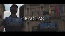 Agradecimiento de Policía Municipal de Pamplona por las colaboraciones recibidas