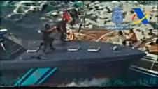 Vídeo: Macrogolpe al narcotráfico con la intervención de 35 toneladas de hachís